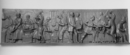 Wedgwood Memorial Institute;Relief panel