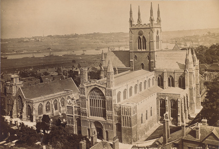 Rochester Cathedral ;Cathedral Church