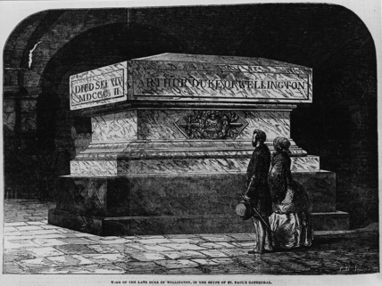 St Paul's Cathedral;The Crypt;Tomb of the Duke of Wellington