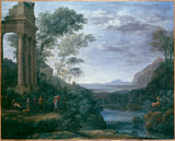 Landscape with Ascanius shooting the Stag of Sylvia