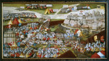 The Battle of Pavia (frame)