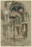 St Mark's, Venice. Sketch after Rain
