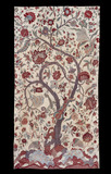 Chintz wall hanging with a Tree of Life design