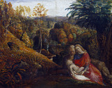 Landscape with the Repose of The Holy Family