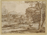 Landscape with a Herd of Deer