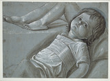 Study for a recumbent Figure of the Infant Christ