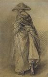 Study of a Woman, seen from the Back