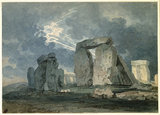 Stonehenge during a Thunderstorm