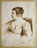 A Woman Seated