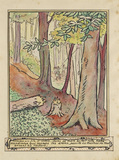 The woodcutters pull down the trees from 'La Reine des Poissons'