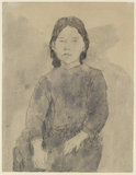 Seated Girl (Marie Hamonet?)