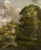 Willy Lott's House from the Stour (The Valley Farm)