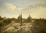 The Piazza del Popolo, Rome