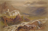 The Monastery of St Paul, Mount Athos, 1857