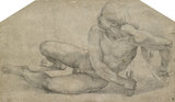 Recumbent Figure of a Soldier
