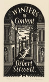 Winters of Content: design for dust jacket 1932