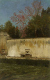 A Corner of the Gardens of the Villa Borghese,