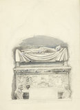 The Sarcophagus and Effigy of the Tomb of Cangrande I della Scala, Verona