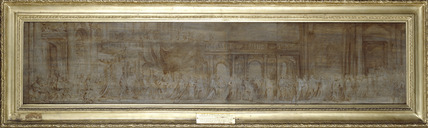 Charles I and the Knights of the Garter in Procession (framed)