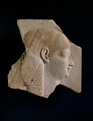 Sculptor's trial piece with head of Isis