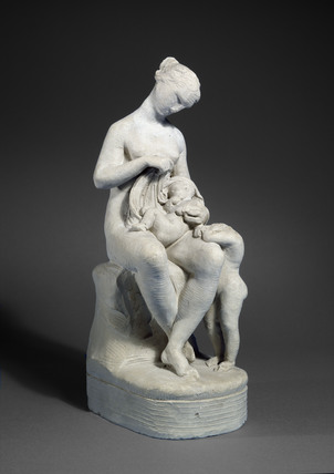 Sketch model for a statue of Mrs Dorothy Jordan with her Children