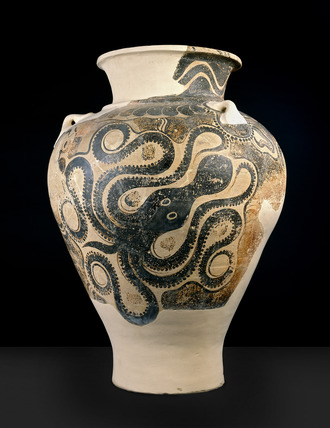 Storage jar (pithos) with octopus