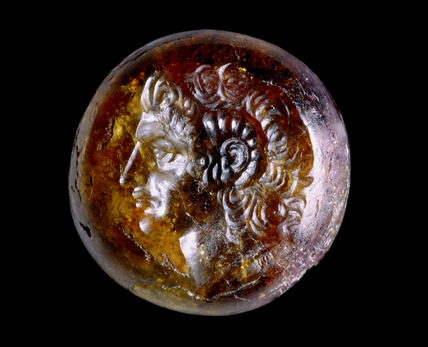 Sealstone: portrait of Alexander the Great