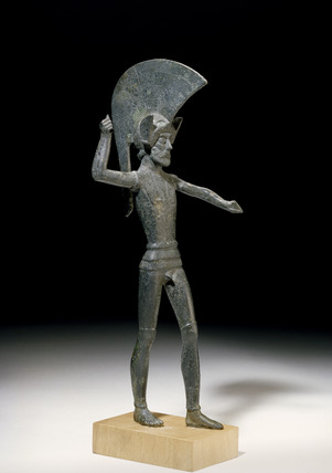 Statuette of a warrior