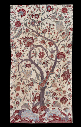 Chintz wall hanging with a Tree of Life design by India at ...