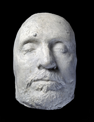 Oliver Cromwell's death mask
