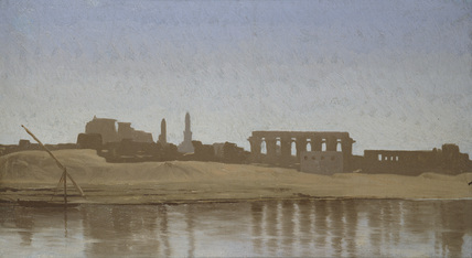 View of the Nile at Luxor