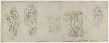 Studies for a Pietà and an Entombment