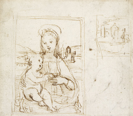 Study for a Picture of the Virgin and Child
