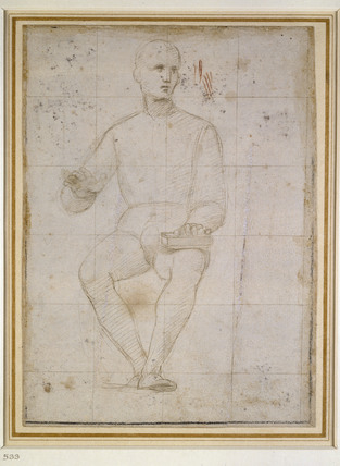Study of a seated Man