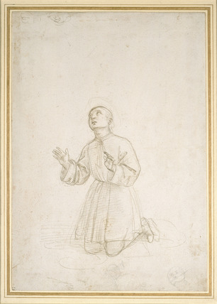Kneeling Figure of a Youth