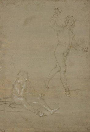 Studies for two Guards in a Resurrection