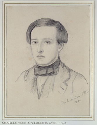 Portrait of Charles Allston Collins