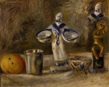 Still Life with a faience Figure