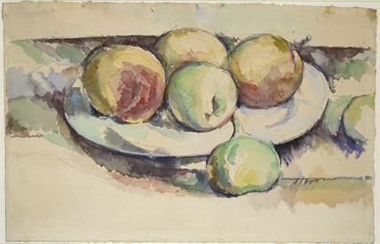 Still-life of Peaches and Figs