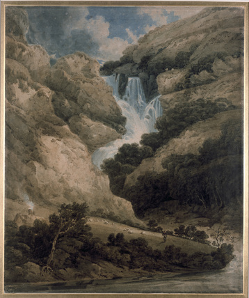 The Gorge of Wathenlath with the Falls of Lodore, Derwentwater