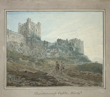 Bamborough Castle, Northumberland