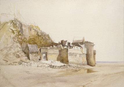 Mont St Michel; The Outer Gate