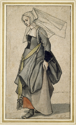 Figure of a Woman (English) in contemporary Dress