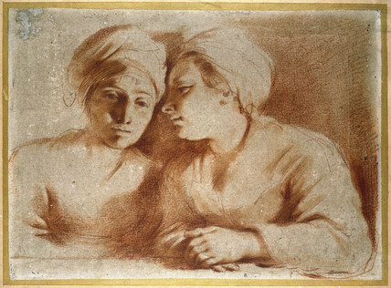 Two Women Seated