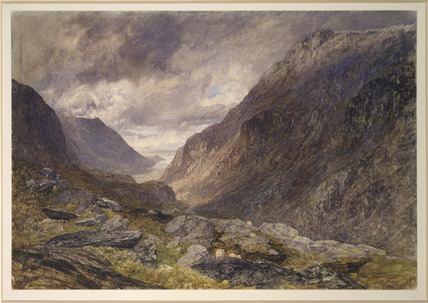 Valley and Mountain Landscape