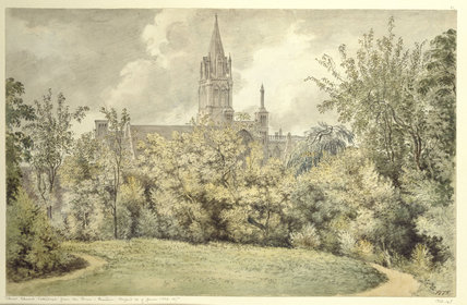 Christ Church Cathedral from the Dean's Garden