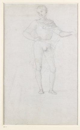 A Study for a Figure in an Adoration of the Magi