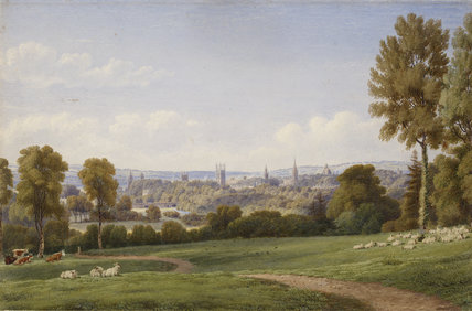 View of Oxford from Headington