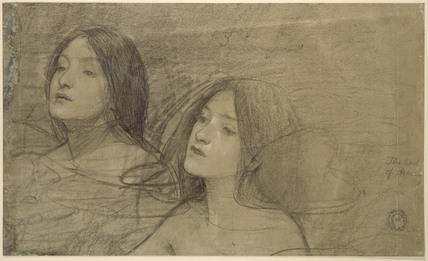 Study of Nymphs for 'Hylas and Two Nymphs'