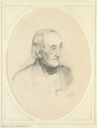 Portrait of William Bennett